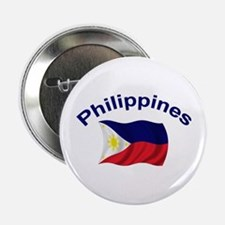 "Philippines Flag 2.25"" Button (10 pack)"