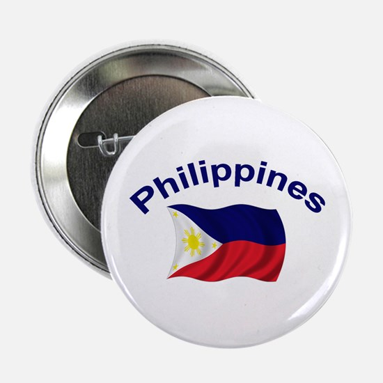 """Philippines Flag 2.25"""" Button (10 pack)"""