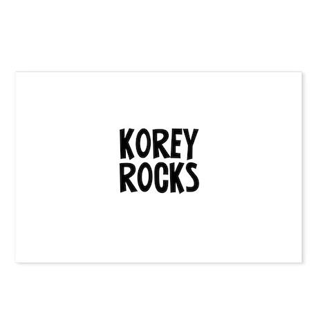 Korey Rocks Postcards (Package of 8)