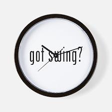 Unique Swing dancing Wall Clock