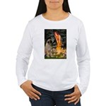 Fairies / Bullmastiff Women's Long Sleeve T-Shirt