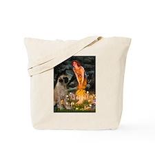 Fairies / Bullmastiff Tote Bag