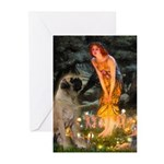 Fairies / Bullmastiff Greeting Cards (Pk of 10)