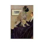 Whistler's / Bullmastiff Rectangle Magnet (10 pack