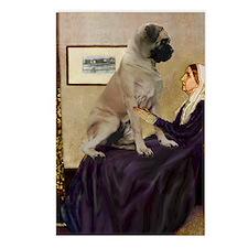 Whistler's / Bullmastiff Postcards (Package of 8)