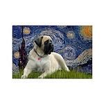 Starry / Bullmastiff Rectangle Magnet (10 pack)