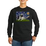 Starry / Bullmastiff Long Sleeve Dark T-Shirt
