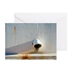 Water Drain Greeting Cards (Pk of 10)