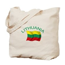 Lithuanian Flag Tote Bag
