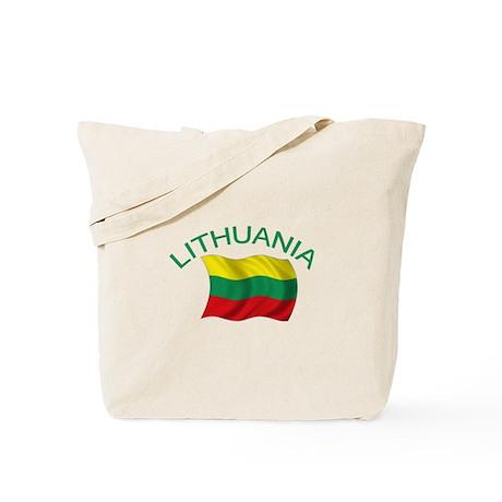 Lithuanian Flag Tote Bag