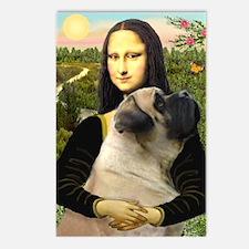 Mona /Bullmastiff Postcards (Package of 8)