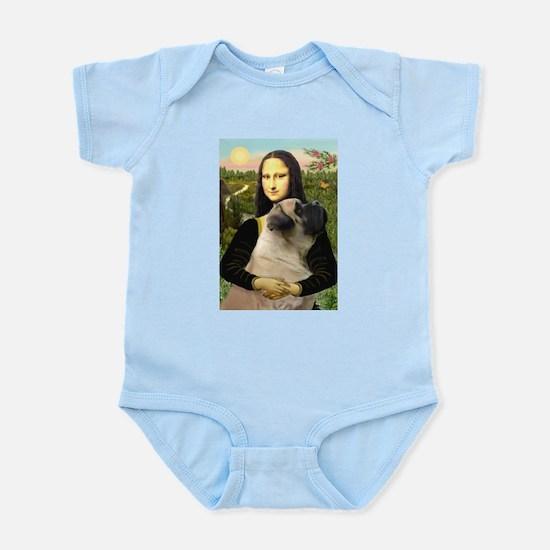 Mona /Bullmastiff Infant Bodysuit