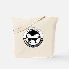 Caucasian Ovcharka Tote Bag