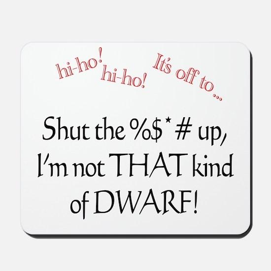 Dwarf Mousepad