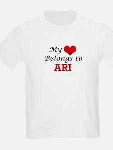 My heart belongs to Ari T-Shirt