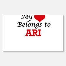 My heart belongs to Ari Decal