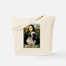 Mona /Bullmastiff Tote Bag