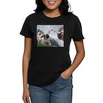Creation / Bullmastiff Women's Dark T-Shirt