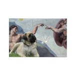 Creation / Bullmastiff Rectangle Magnet (10 pack)