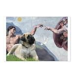 Creation / Bullmastiff Postcards (Package of 8)