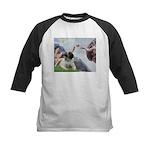 Creation / Bullmastiff Kids Baseball Jersey
