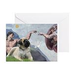 Creation / Bullmastiff Greeting Card