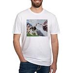 Creation / Bullmastiff Fitted T-Shirt