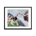 Creation / Bullmastiff Framed Panel Print
