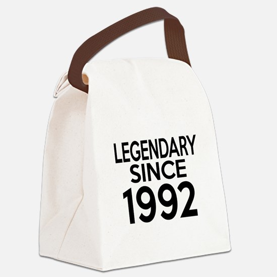 Legendary Since 1992 Canvas Lunch Bag