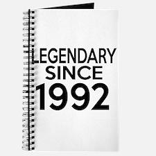 Legendary Since 1992 Journal