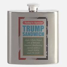 Trump Sandwich Flask