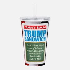 Trump Sandwich Acrylic Double-wall Tumbler