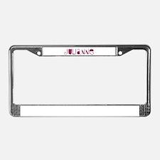 Julianne License Plate Frame