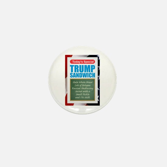 Trump Sandwich Mini Button