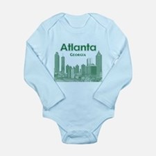 Alanta Long Sleeve Infant Bodysuit