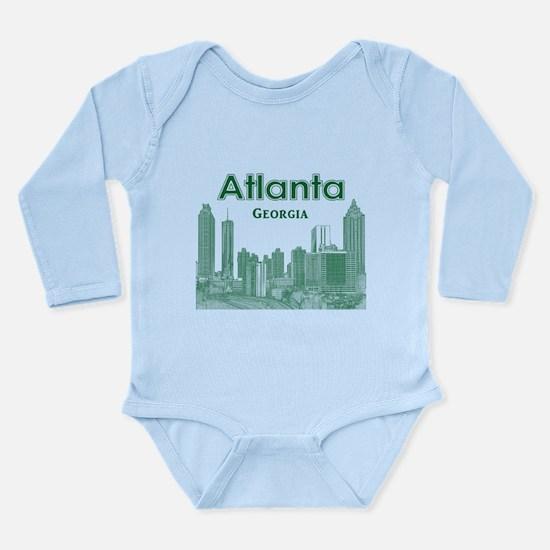 Alanta Long Sleeve Infant Bodysuit