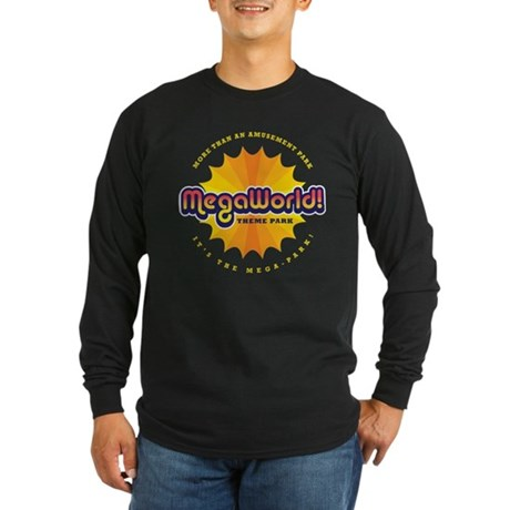 MegaWorld Long Sleeve Dark T-Shirt