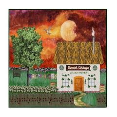 Sunset Cottage Version 2 Tile