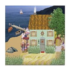 Lakeside Cottage Tile