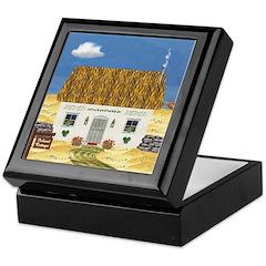Island Cottage Keepsake Box