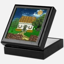 Storm Cottage Keepsake Box