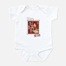 Ho! Ho! Ho! Kitschmas Stamp Infant Bodysuit