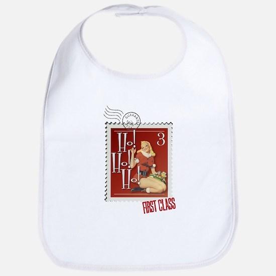 Ho! Ho! Ho! Kitschmas Stamp Bib