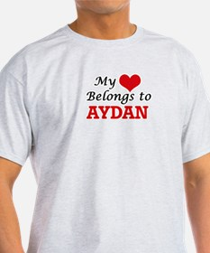My heart belongs to Aydan T-Shirt