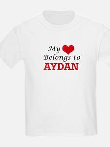 My heart belongs to Aydan T-Shirt