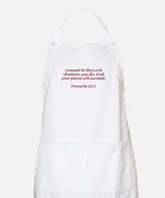 Commit to the Lord BBQ Apron