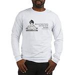 Too Fond of Books (LM Alcott) Long Sleeve T-Shirt