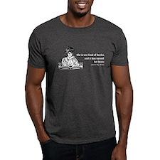 Too Fond of Books (LM Alcott) T-Shirt