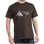 Too Fond of Books (LM Alcott) Dark T-Shirt