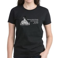 Too Fond of Books (LM Alcott) Tee